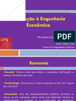 Tópico 1 - Introdução à Engenharia Econômica