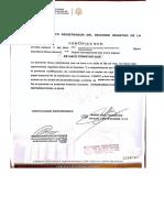 Certificado de Propiedad