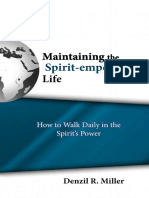 3 Booklet Maintaining the Spirit Empowered Life