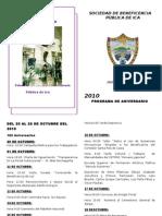 162 Aniversario Beneficencia Pública de Ica