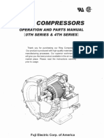 Ring Compressor Operation and Parts Manual