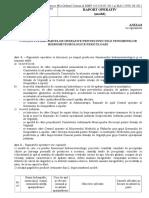 Raport Operativ Anexa 8