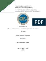 Equipos de Regulación y Control en Hornos Metalúrgicos