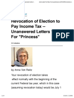 Judge Anna-Revocation of Election to Pay Income Tax