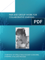 Pair and Group Work for Collaborative Learning
