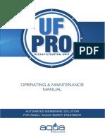 - UF-PRO OPERATING & MAINTENANCE MANUAL.pdf