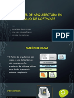 Patrones de Arquitectura en Desarrollo de Software