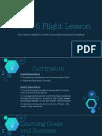 grade 6 flight lesson