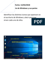 windows y sus partes