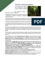 Identificación y Clasificación Ambiental