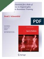 Mechanisms of Metabolic Stress in Hypertrophi - Brad J.Schoenfeld