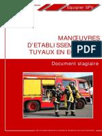 5_Manoeuvres d'Etablissement Des Tuyaux en Écheveau V4