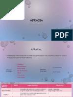APRAXIA resumen!