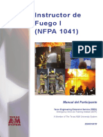 Instructor Del Fuego I (NFPA 1041) PM