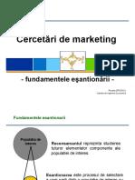 Curs 5_Cercetari de Marketing
