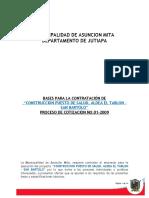 850039@Bases de Cotizacion Revisada Lista Puesto de Salud