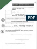 FormularioN°007- CERTIFICADO DE CONDUCTA