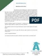 Programación Lineal_Tarea 1. Métodos simplex primal y simplex dual Apropiar conceptos y solucionar problemas de la unidad 1