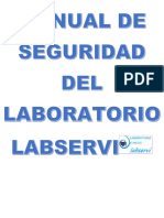 Manual de Seguridad Del Laboratorio Labservi