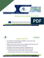 Wireless Train Backbone