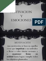 Motivos y Emociones-pedagogia