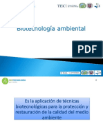 Tecnicas de Biorremediación..