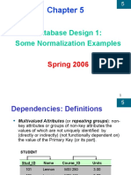 Normalization Examples