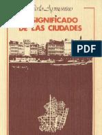 AYMONINO, Carlo - Proyecto arquitectónico y formación de la ciudad (cap. 11)