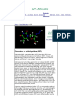 AZT Molecule - World of Molecules