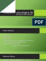Evaluación psicológica de José Alejandro Barrón Quiñonez.pptx