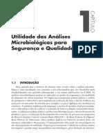 Utilidade Das Analises Microbiologicas Para Segurança e Qualidade