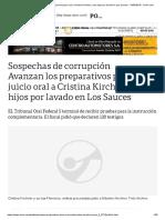 Avanzan Los Preparativos Para El Juicio Oral a Cristina Kirchner y Sus Hijos Por Lavado en Los Sauces - 15-03-2019 - Clarín.com
