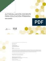 Autoevaluación docente para educación primaria