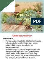 Amali 7 - Tumbuhan Landskap