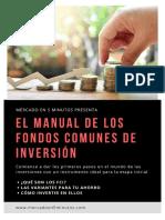 Manual de los fondos comunes de inversión