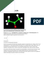 Acetone - World of Molecules