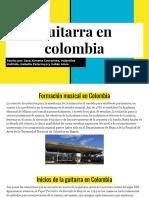 Guitarra en Colombia