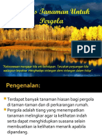 Amali 9 - Jenis Tanaman Pergola
