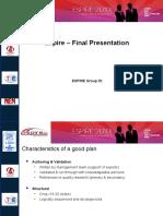 3 Espire_Interim Business Plan