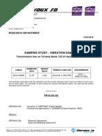 TR18.03.05 Damping Study - Transmission line on Tunrkey Basis 132kV double circuit LT - ACCC HAWK.PDF
