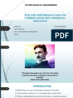 Fabrication and Performance Analysis of Tesla Turbine