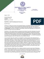 Letter - LPorcari MVPD Property