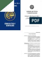 Codigo Etica y Deontologia Ps. Del Peru - MODULO