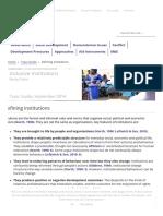 Defining Institutions - GSDRC