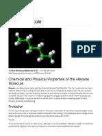 Hexane - World of Molecules