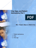 Vital Sign and Patient Admission Part 1 for Share