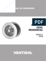 Exaustor Axial Residencial