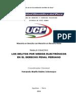 Los Delitos Por Medios Electrónicos en el Derecho Penal Peruano
