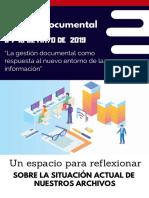 Congreso Gestión Documental 2019