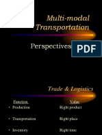 12. Multimodal Transportation